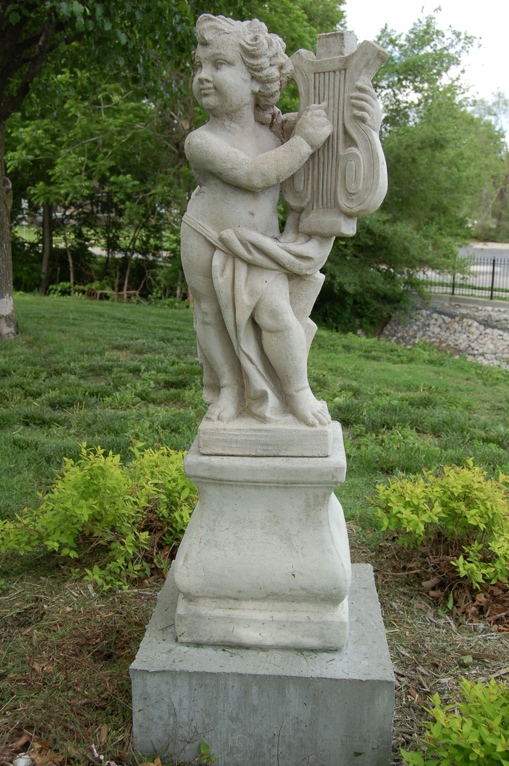 Cherub Statue at Cooper Creek